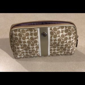 Coach Makeup Cosmetic Pouch